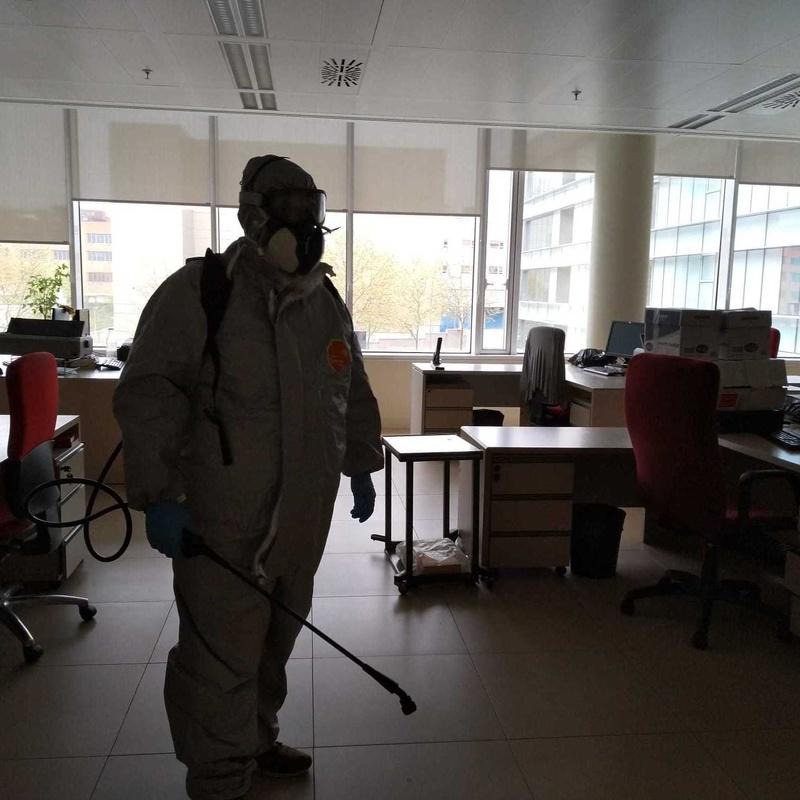 Desinfección de edificios por nebulización: Nuestros servicios de AMELIN
