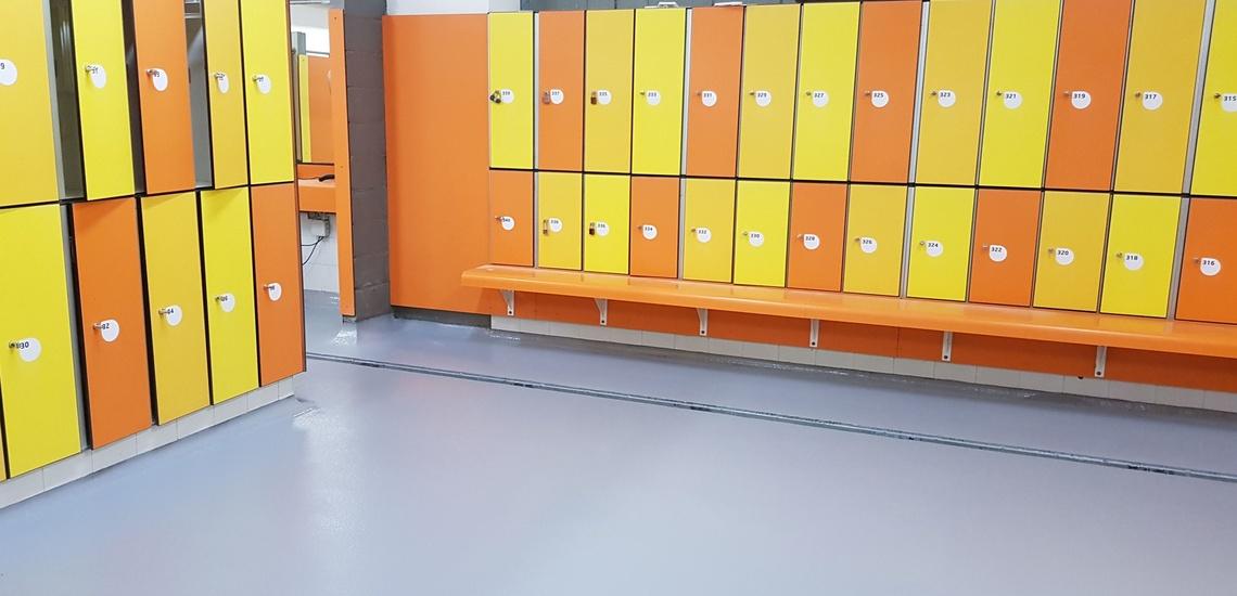 Pavimentos MC Indust color, multicapa resina epoxi