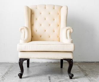 Tapizado de sillas: Productos y servicios de Tapizados Gutiérrez Ortiz
