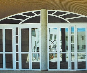 Puertas de aluminio en Badajoz
