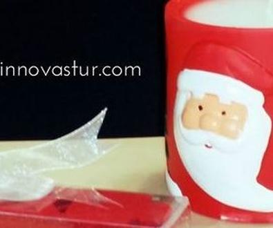 Velas navideñas personalizadas en Innovastur