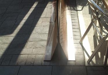 Separador de terrazas