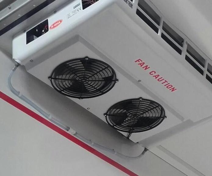 Recambios de equipos de refrigeración del transporte: Productos de Mafriauto