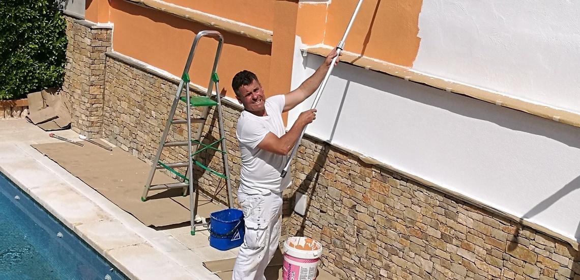 Empresa de pintores en Tarragona con trabajos exteriores