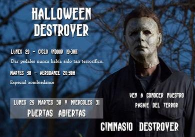 Halloween PUERTAS ABIERTAS