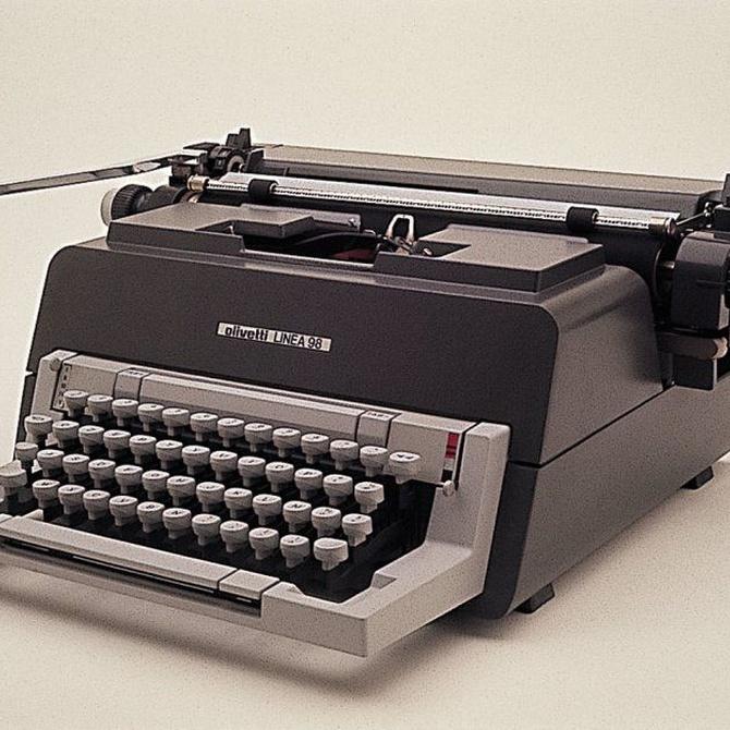 ¿Se sigue usando la máquina de escribir?