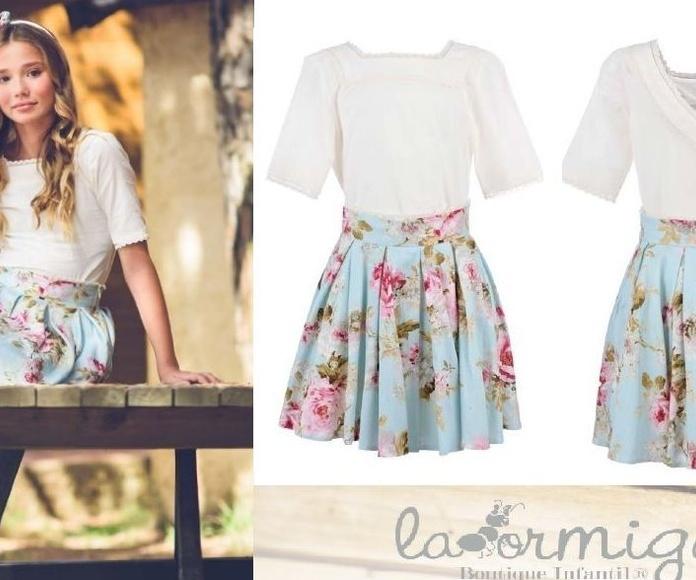 Conjunto falda y blusa 62,45€