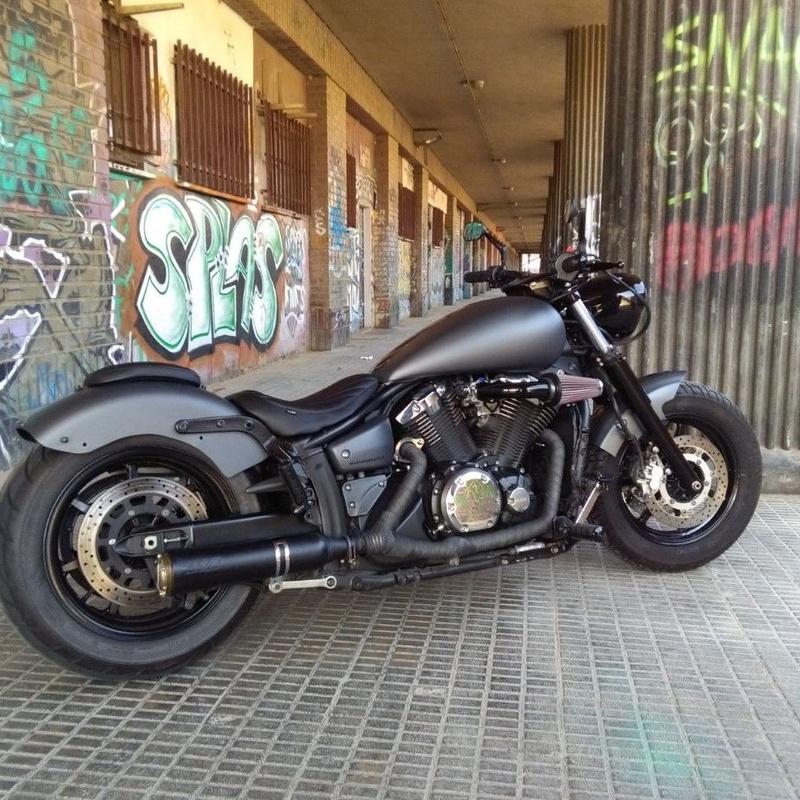 personalizar motos valencia, customizar motos,transformacion motos, transformacion yamaha, luxury