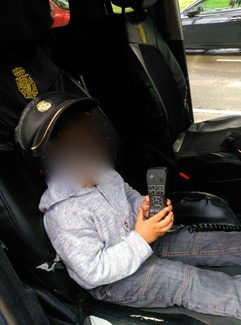 Fotos visita policias