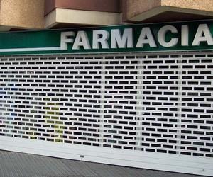 Puertas de seguridad para farmacias en Canarias
