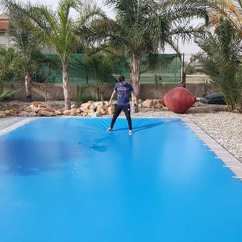Cubiertas para piscinas: Servicios de Toldos Monreal