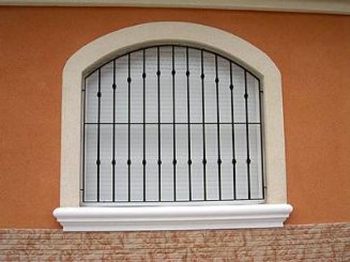 Rejas en ventanas
