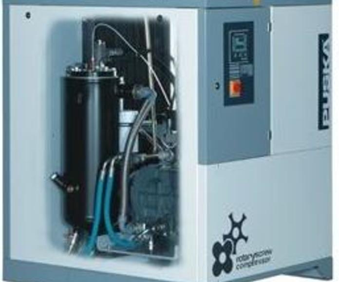 Compresores rotativos de tornillo serie RTC multicode