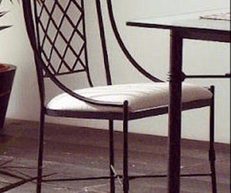 Cama Bélgica con madera: Catálogo de muebles de forja de Forja Manuel Jiménez