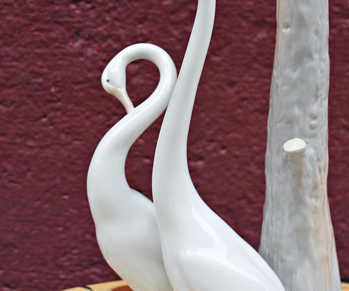 Lampara de porcelana NAO de LLADRÓ: Artículos  de Ruzafa Vintage