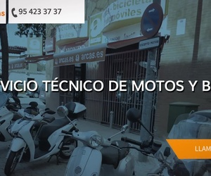 Talleres de motos en Sevilla: Arcas Motos y Bicis
