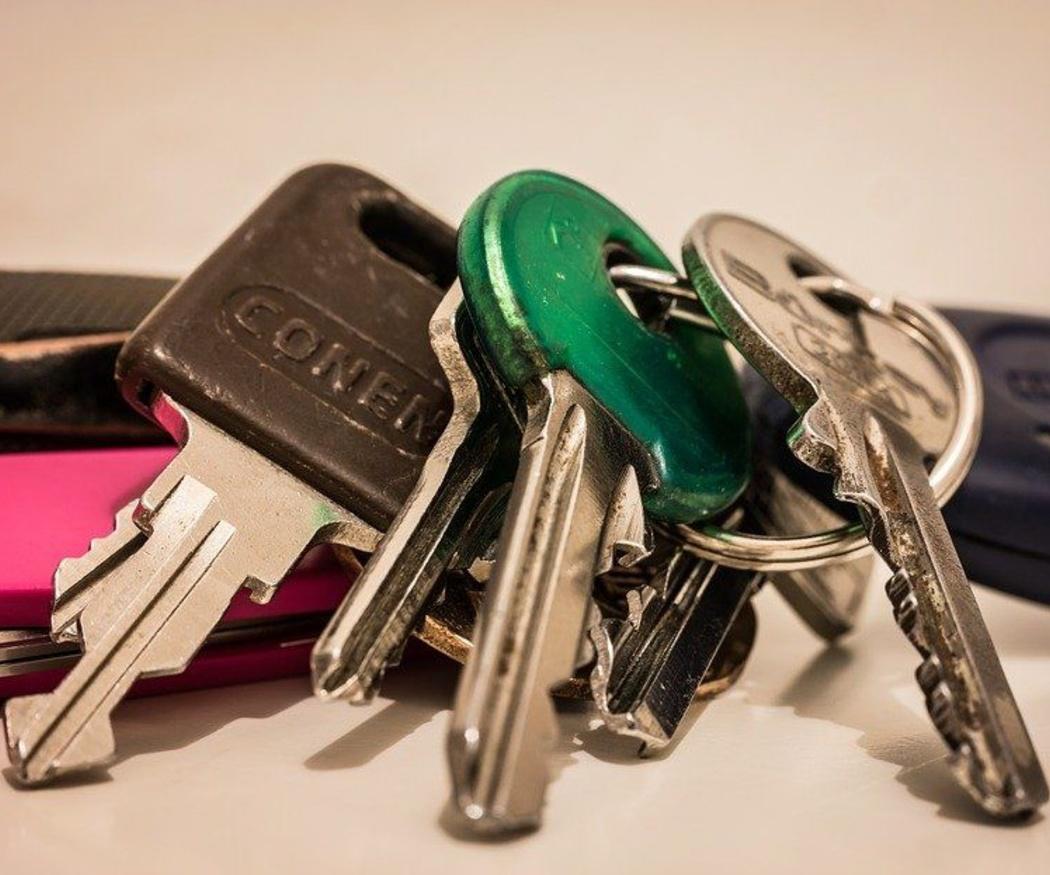 ¿Dónde guardar las llaves de repuesto?