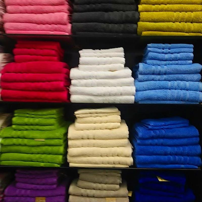 Toalla lisa de rizo americano 580 grms/m2, 100% algodón peinado