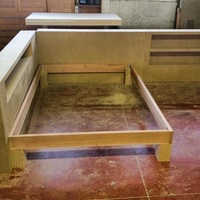 Fabricación de arrimaderos y bancada
