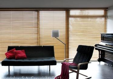 Wooden Venetian curtains