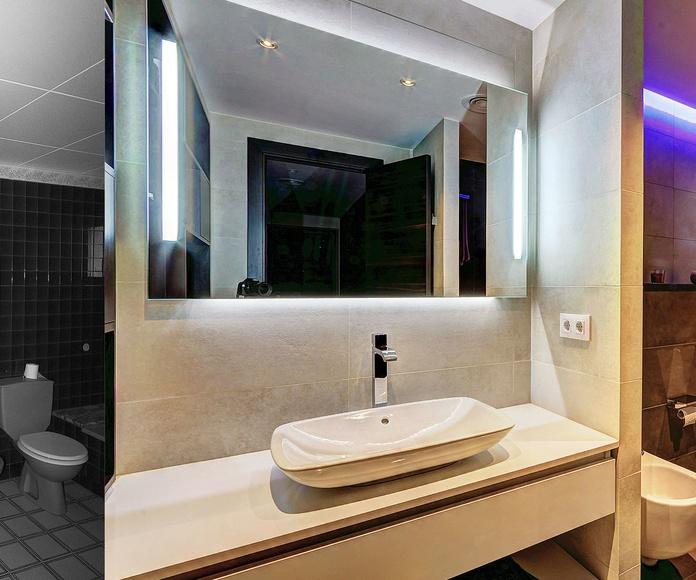 Diseño y reforma de baño en Hospitalet