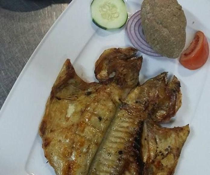 Pescado: Servicios de Restaurante las Palmeras de Fasnia