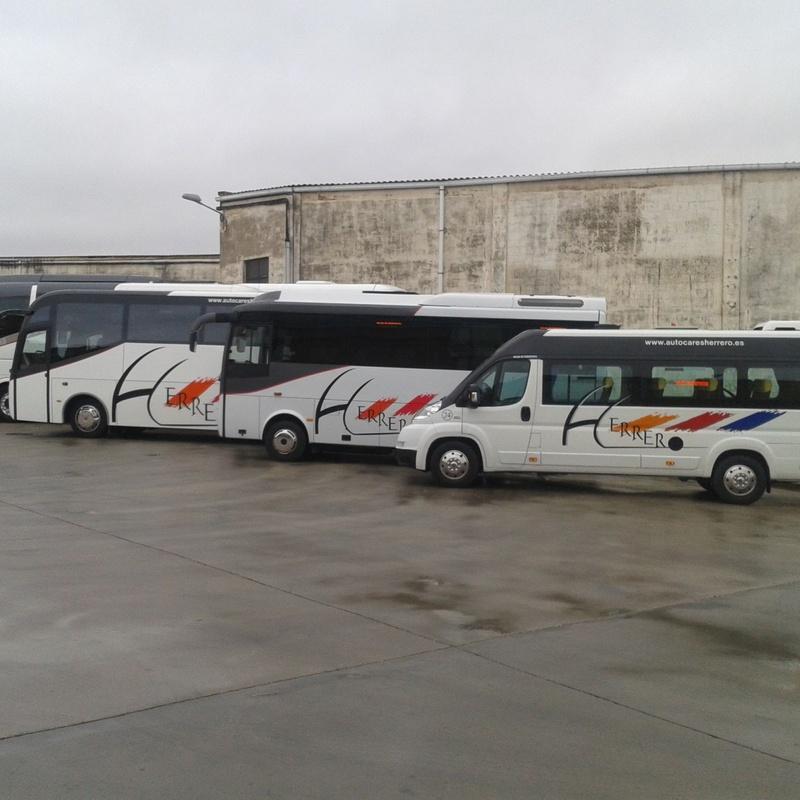 Servicio a la demanda: Servicios de Autocares Herrero