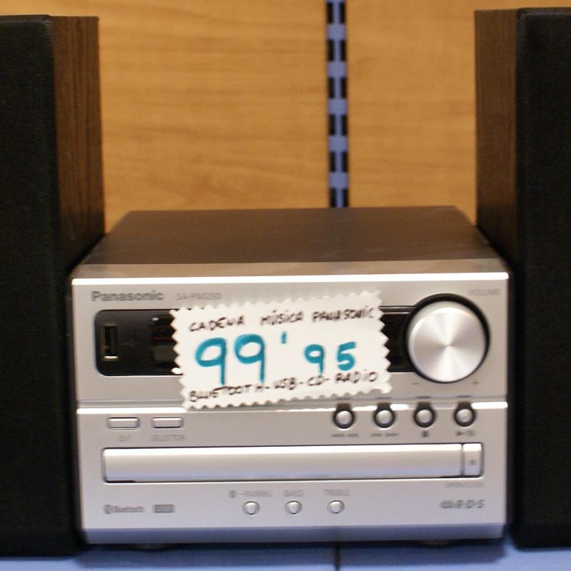 Cadena de musica PANASONIC: Catalogo de Ocasiones La Moneta