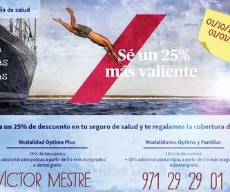 Autónomos: Seguros de Víctor Ramón Mestre. Mediadores de Seguros