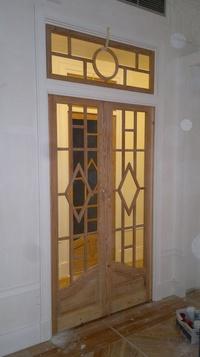 Puerta antigua , lijada