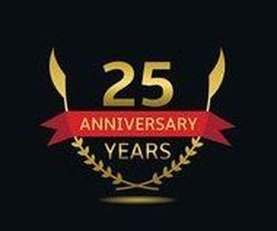 ¡25 AÑOS JUNTOS!