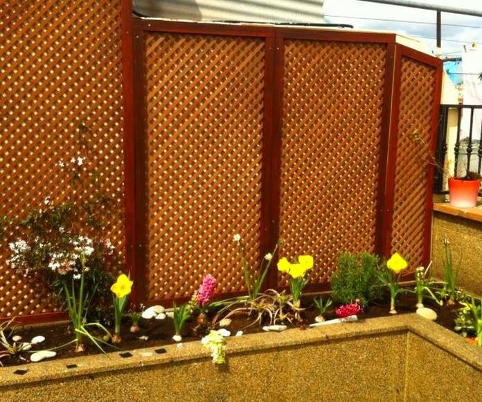 Impermeabilizacion de terraza,jardineras y solado en granito.: Trabajos realizados de REFORMAS, INSTALACIONES Y CONSTRUCCION ARAGON SLU