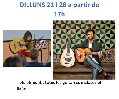Clases gratuïtas de guitarra