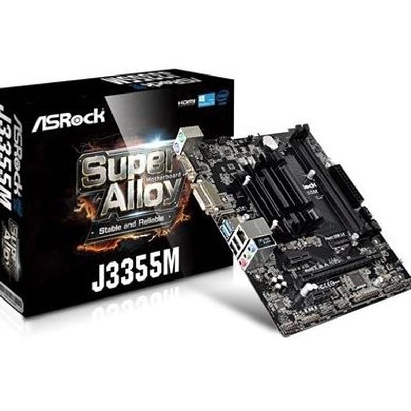 Asrock Placa Base J3355M mATX CPU Integrada: Productos y Servicios de Stylepc