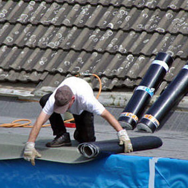 Impermeabilización de edificios: Servicios de Sellados y Aplicaciones Intecnia S.L.