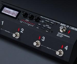 Boss MS-3: multiefectos, switcher de pedales y control de amplis en una sola unidad
