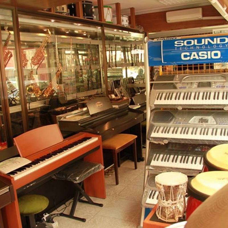 Nuestra tienda: Catálogo de Casa de Música Ritmo