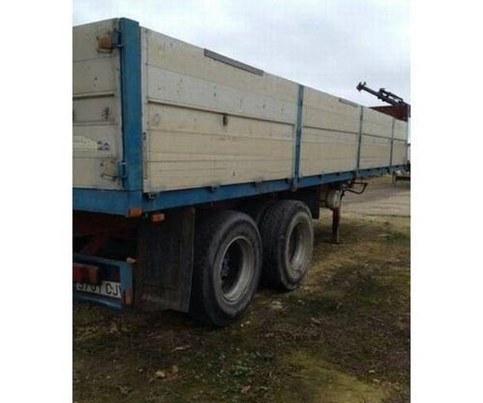 Semiremolques: Servicios of Transportes y Grúas Galván - Alquileres Galván