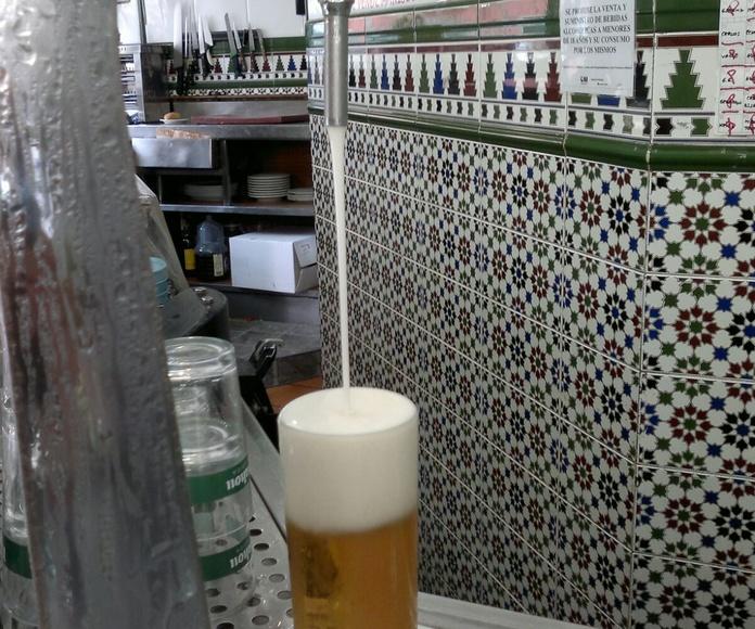 Cervecería Alonso. La mejor cerveza de grifo: Especialidades de Bar Cervecería Alonso