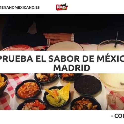 Tacos mexicanos en Cuatro Caminos, Madrid | Nano El Mexicano