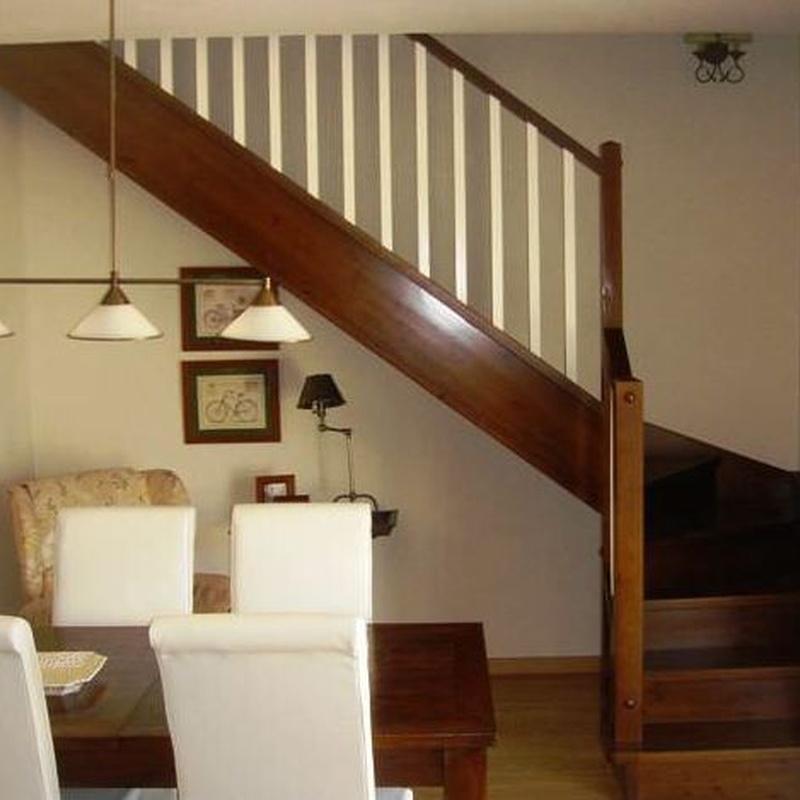 Diferentes tipos de escaleras: Catálogo de Jv Car Carpintería