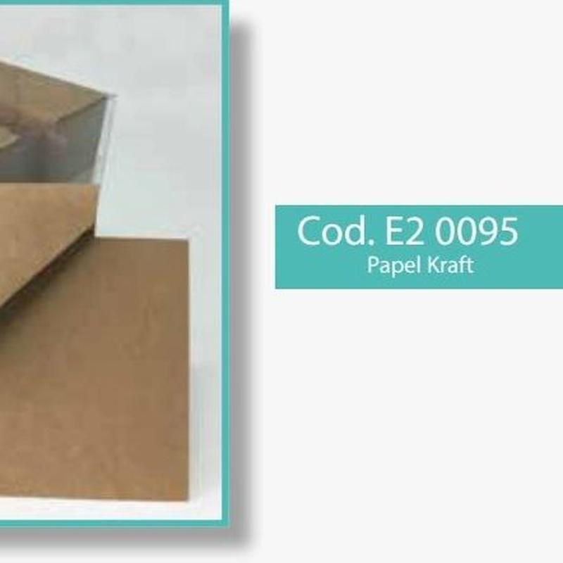 """PQTE x (100 SOBRES KRAFT+100 TARJETAS KRAFT) FORMATO: 7x11cm/ """"KRAFT AVANA"""" REF: E2 0095 PRECIO: 12,00€"""