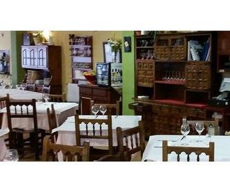 Nuestras especialidades: Productos y servicios de Restaurante Casado
