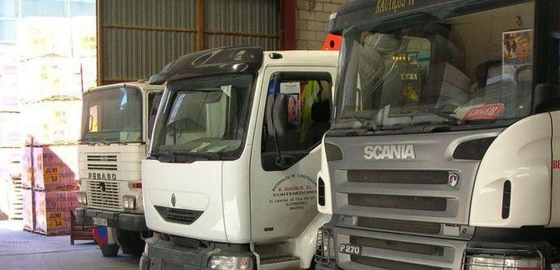 Camiones para el reparto