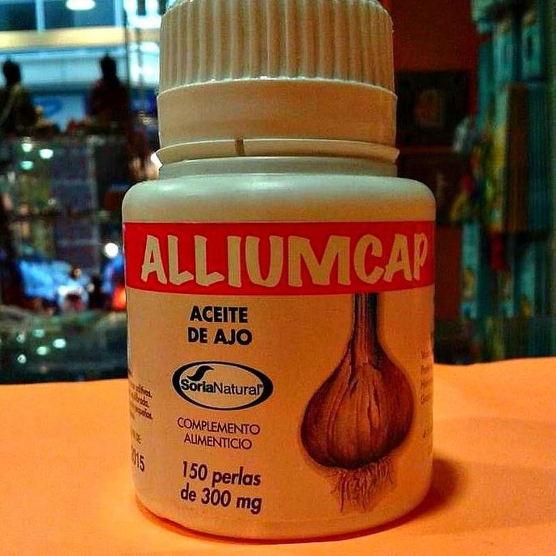 Alliumcap aceite de ajo : Cursos y productos de Racó Esoteric Font de mi Salut