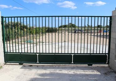 Puertas metálicas para cerramientos