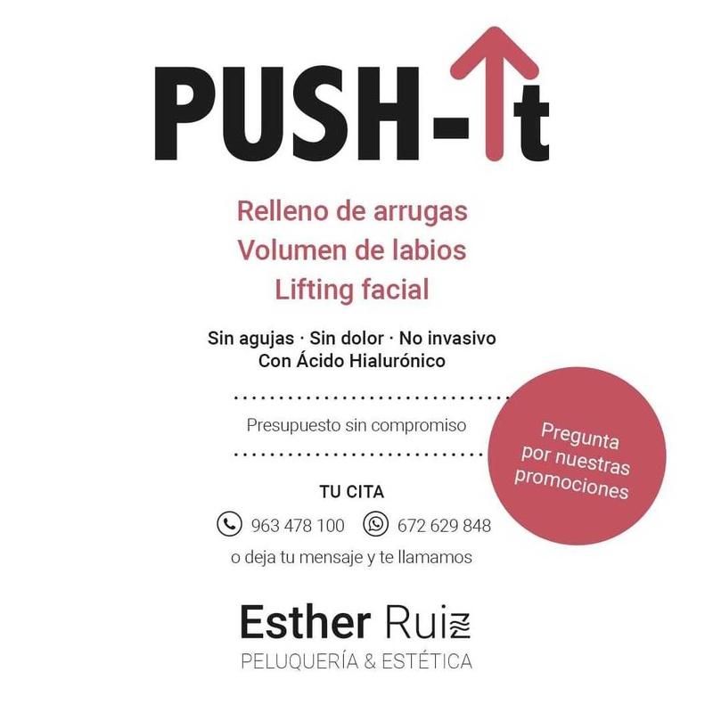Push-It: Servicios de Esther Ruiz Peluquería y Estética
