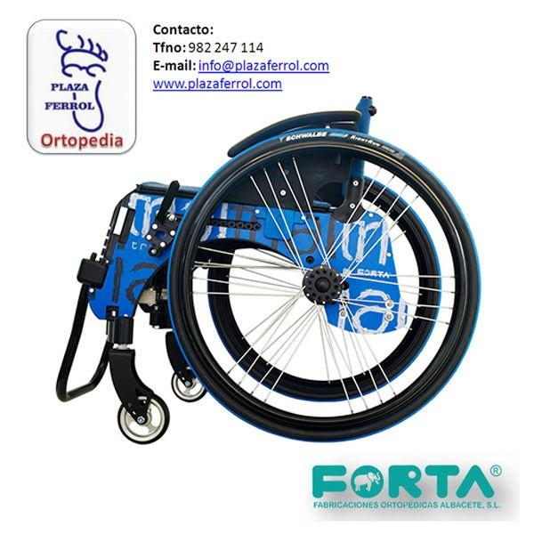 Silla de ruedas Trial Light de Forta