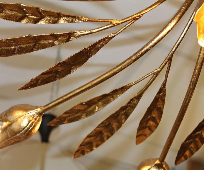 Lampara de forja y pan de oro: Artículos  de Ruzafa Vintage