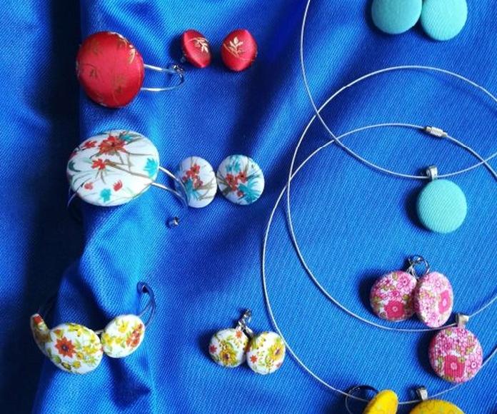 Bisutería en tela de Lira colección verano: Mis creaciones de Lira Naturaleza
